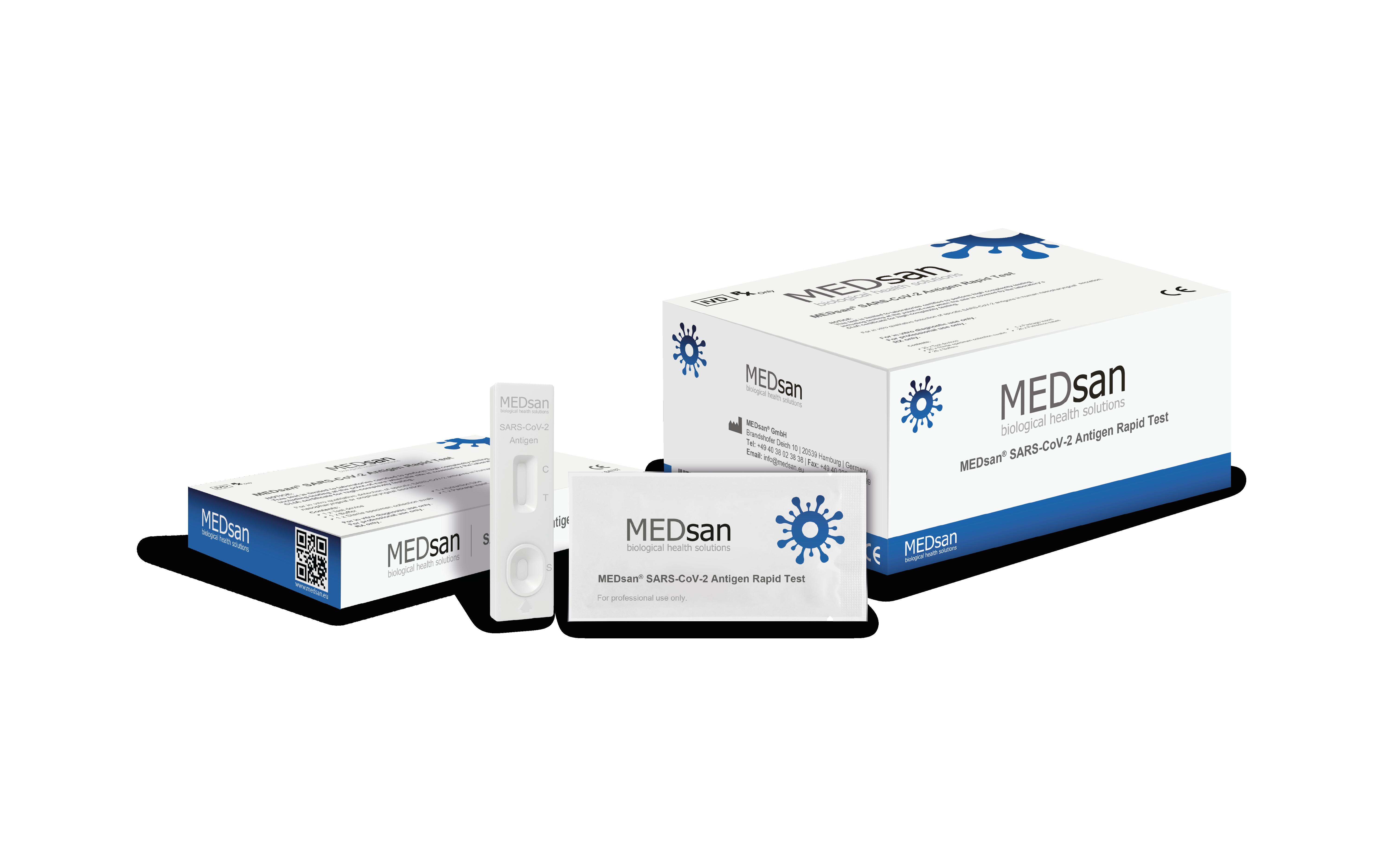 MEDsan® SARS-CoV-2 Antigen Rapid Test