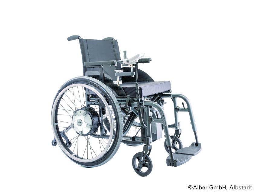 e-fix® E35, elektrischer Radnabenantrieb, inkl. Rollstuhl
