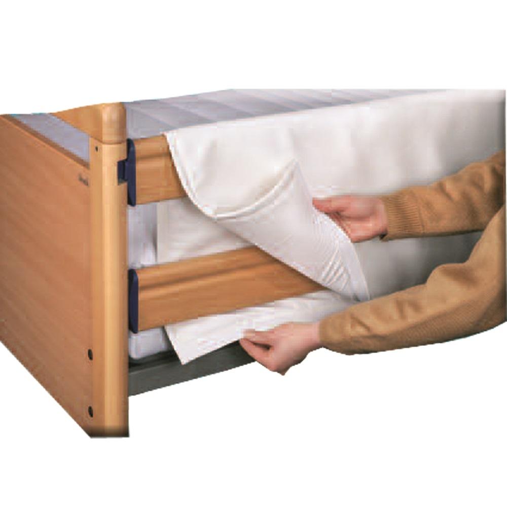 Seitengitterpolster für Pflegebett