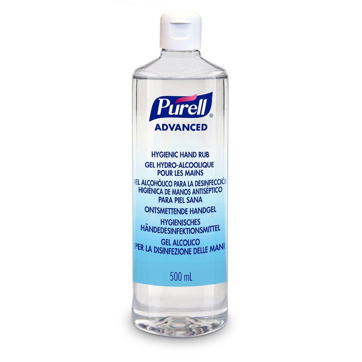 PURELL® Advanced Hygienisches Händedesinfektionsmittel, 500ml mit Klappdeckel